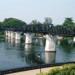 クウェー川鉄橋写真